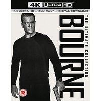 Bourne 4K Collection 4K UHD Blu-ray