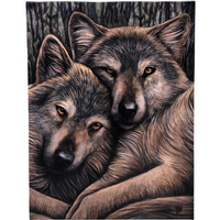 Small Loyal Companions Canvas Picture by Lisa Parker