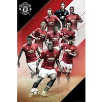 Manchester United Players 17/18 Maxi Poster