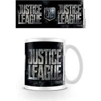 Justice League Movie - Metallic Logo Mug