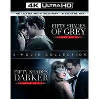 Fifty Shades Darker/ Fifty Shades Of Grey 4K UHD + Blu-ray + Digital HD