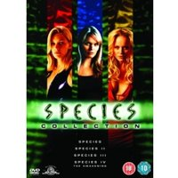 Species 1-4 Collection DVD