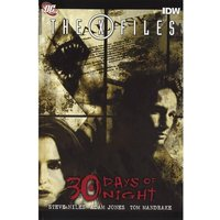 X-Files/30 Days Of Night Hardcover