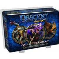 Descent 2nd Edition Oath Of The Outcasts Expansion Game