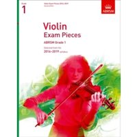 Violin Exam Pieces 2016-2019, ABRSM Grade 1, Score & Part : Selected from the 2016-2019 syllabus