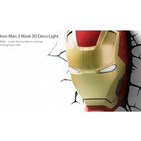 Ex-Display Iron Man 3 Mask 3D Deco Light (Marvel) by 3D Light FX Used - Like New