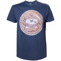 Star Wars VII The Force Awakens Adult Male BB-8 Astromech Droid Small T-Shirt