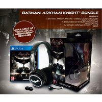 Batman Arkham Knight PS4 Game + Stereo Headset + Thumb Grips