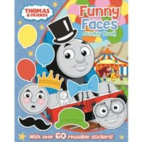 Thomas & Friends: Funny Faces Sticker Book