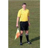 Precision Referees Short Sleeve Shirt Yellow/Black 46-48