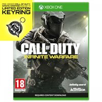 Call Of Duty Infinite Warfare Xbox One Game + Keyring