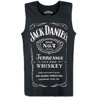 Jack Daniels Adult Male Old No.7 Brand Logo X-Large Tank Top