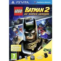 Lego Batman 2 DC Super Heroes Limited Edition With Lex Luthor Toy Game PS Vita