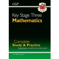 New KS3 Maths Complete Study & Practice (with Online Edition)