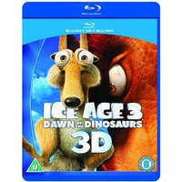 Ice Age 3: Dawn of the Dinosaurs 3D Blu-ray + Blu-ray