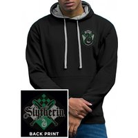 Harry Potter - House Slytherin Men's Small Hoodie - Black