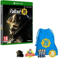 Fallout 76 Xbox One Game + Exclusive Pin Badge Set (inc BETA)