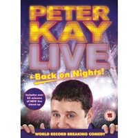 Peter Kay Live Back On Nights DVD