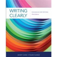 Writing Clearly : Grammar for Editing