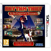 Rhythm Thief & The Emperors Treasure Game 3DS
