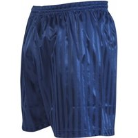 Precision Striped Continental Football Shorts 22-24 inch Navy Blue