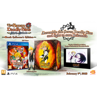 The Seven Deadly Sins Knights Of Britannia Wrath Collector's Edition PS4 Game