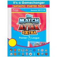 EPL Match Attax Extra 2017/18 Trading Card Game Starter Pack