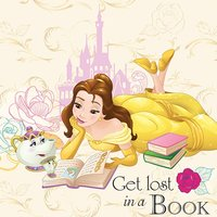 Beauty and the Beast - Lost in a Book Canvas
