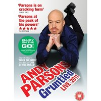 Andy Parsons Gruntled Live 2011 DVD