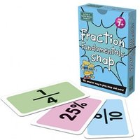 Fraction Fundamentals Snap Card Game