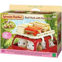 Sylvanian Families Roof Rack with Picnic Set