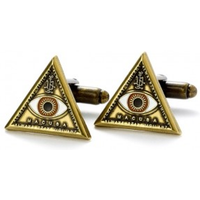 Triangle Eye Cufflinks