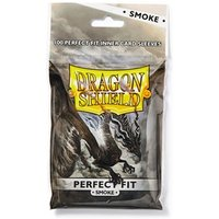 Dragon Shield Perfect Fit Toploaders - Clear/Smoke 100 Sleeves in bag - 15 Packs