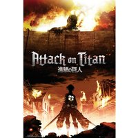 Attack On Titan Key Art Maxi Poster
