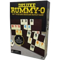 Ex-Display Classic Rummy O in Black & Gold Foil Box Board Game Used - Like New