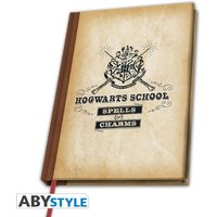 Harry Potter - Hogwarts School A5 Notebook