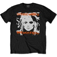 Debbie Harry - French Kissin' Men's Small T-Shirt - Black
