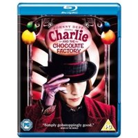 Charlie and The Chocolate Factory Blu-Ray