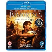 Immortals 3D 2D Blu Ray