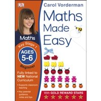 Maths Made Easy Ages 5-6 Key Stage 1 Beginner by Carol Vorderman (Paperback, 2014)