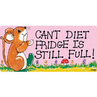 Can't Diet, Fridge Is Full Pack Of 12