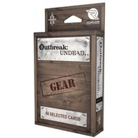The Survival Horror Simulation RPG Gear Card Deck: Outbreak Undead