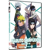 Naruto Shippuden Box Set 21 Episodes 258-270 DVD