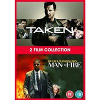 Taken/Man On Fire DVD