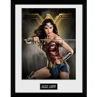 Justice League Wonder Woman Solo Collector Print