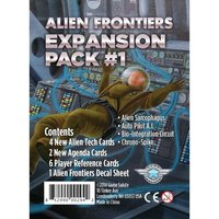 Alien Frontiers Expansion Pack #1 Board Game