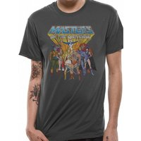 He-Man - Masters Of The Universe Men's X-Large T-Shirt - Grey