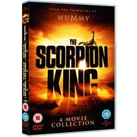 The Scorpion King / Rise of a Warrior / Battle For Redemption / Quest For Power DVD