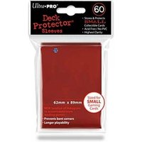 Ultra Pro Small Red Deck Protectors - Case Of 10