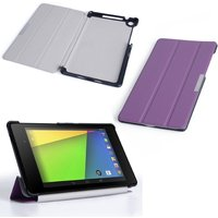 YouSave Accessories Asus Google Nexus 7 2.0 Leather-Effect Stand Case - Purple